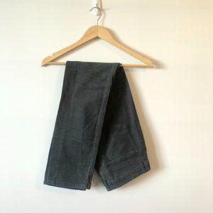 Tommy Hilfiger Grey Corduroy Straight Leg Pants